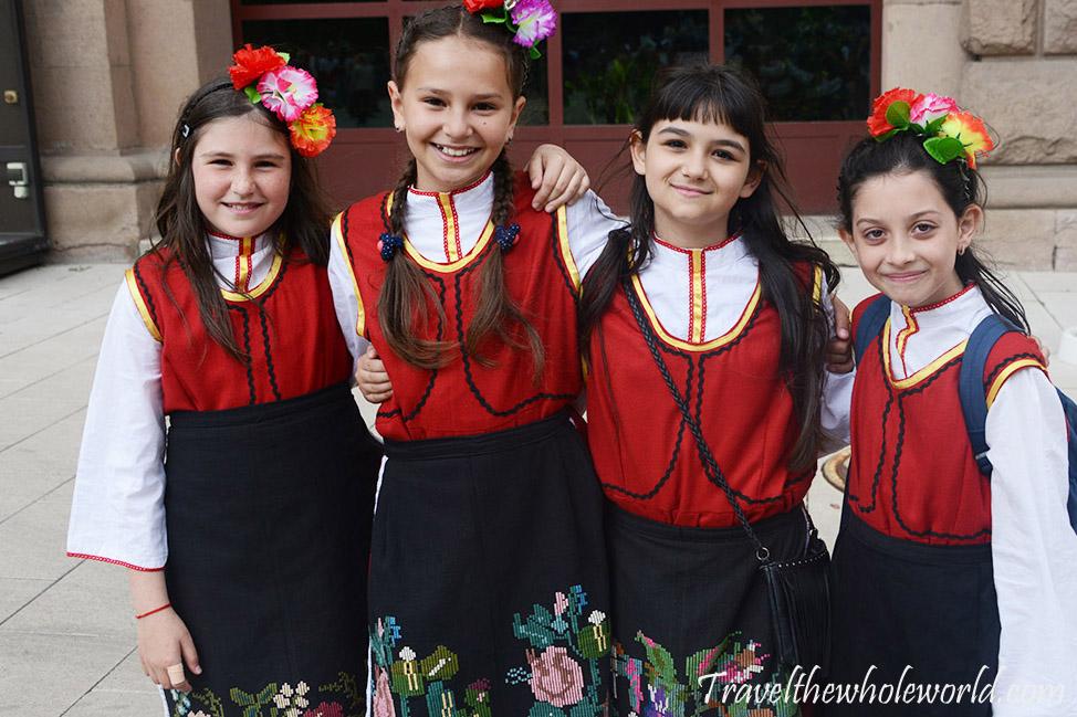 Bulgaria Sofia May 24th Girls