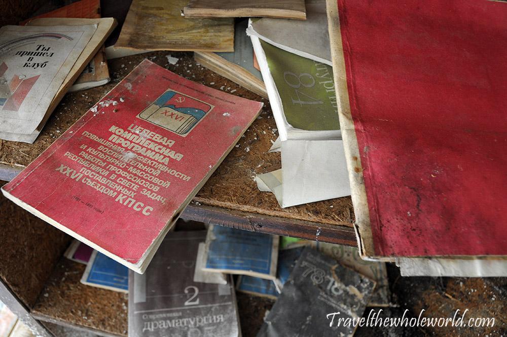 Chernobyl Pripyat Books