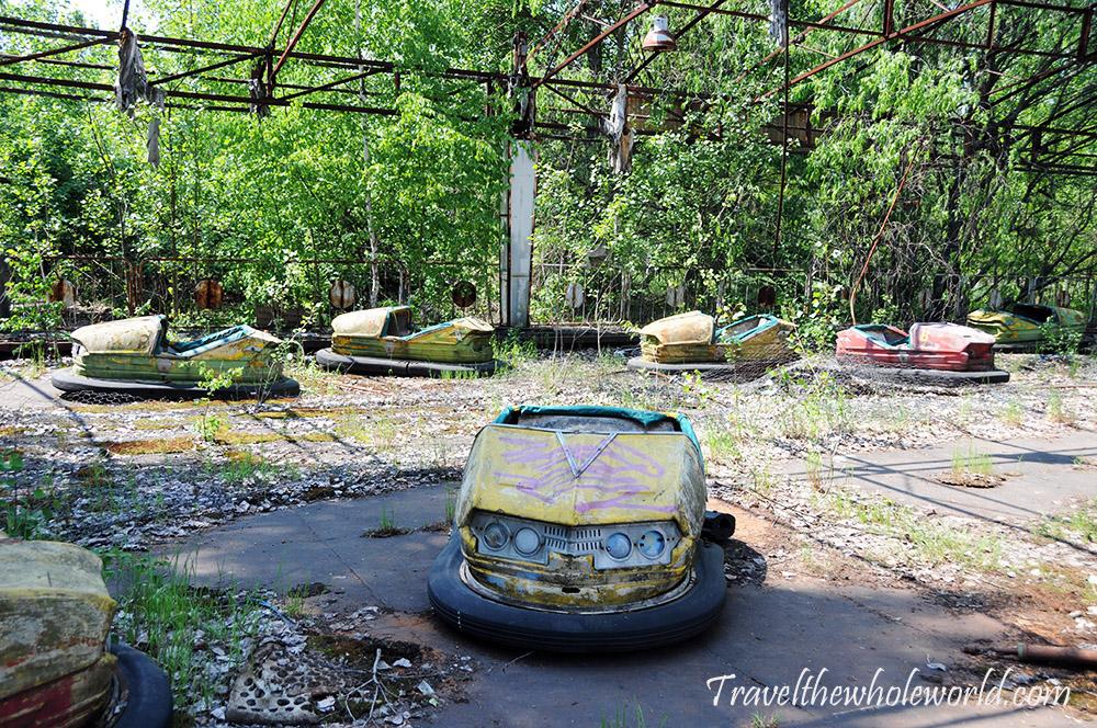 Chernobyl Pripyat Bumper Cars