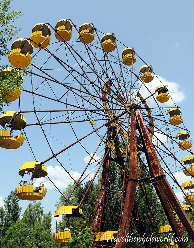 Chernoybl Pripyat Ferris Wheel