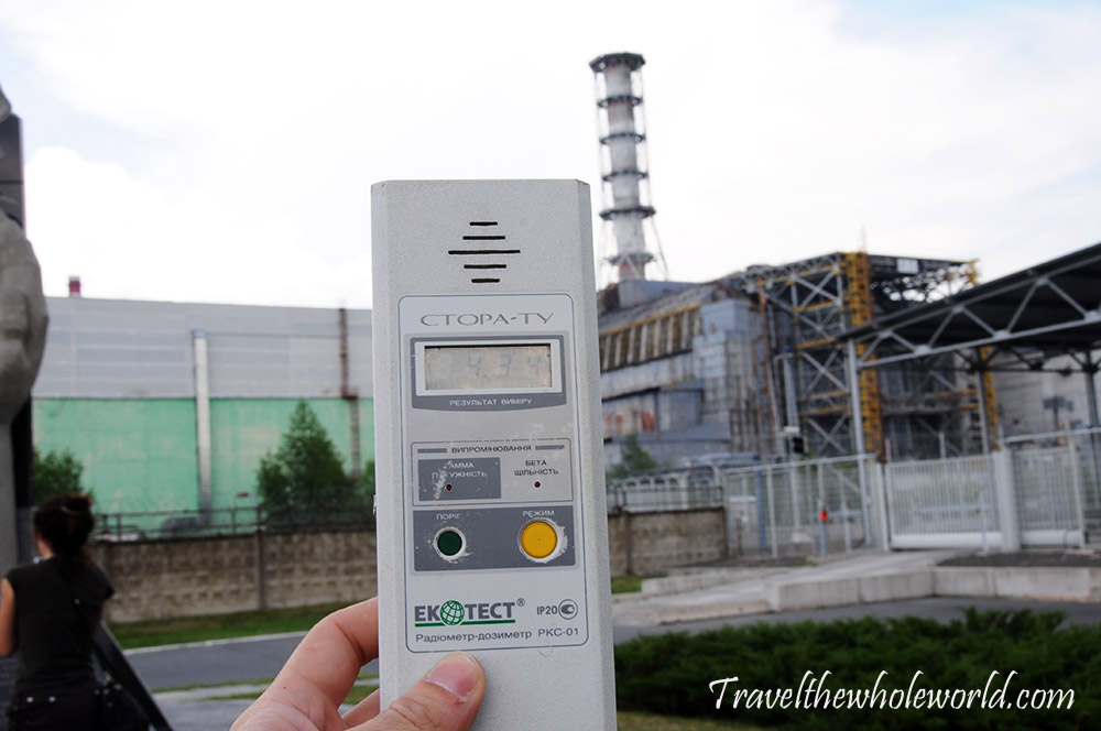 Chernobyl Pripyat Geiger Reading
