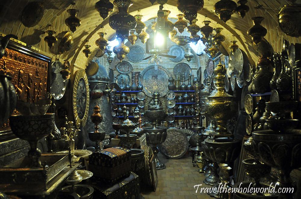 Iran Esfahan Bazaar Shop