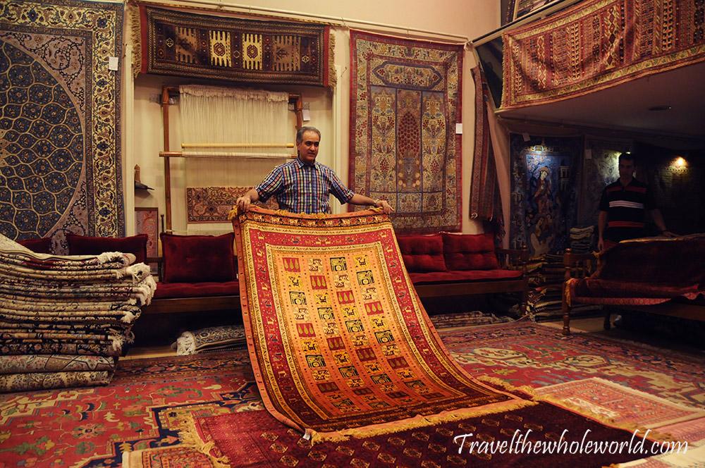 Iran Esfahan Persian Carpets
