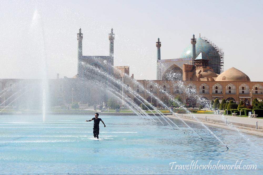 Iran Esfahan Fountain Water Park