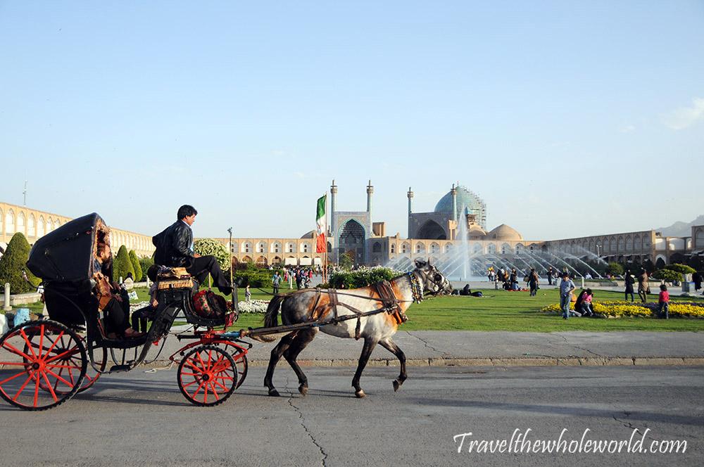Iran Esfahan Imam Square Carriage