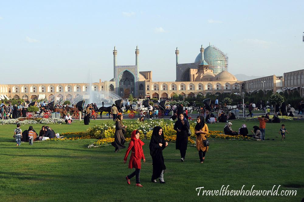 Iran Esfahan Imam Square