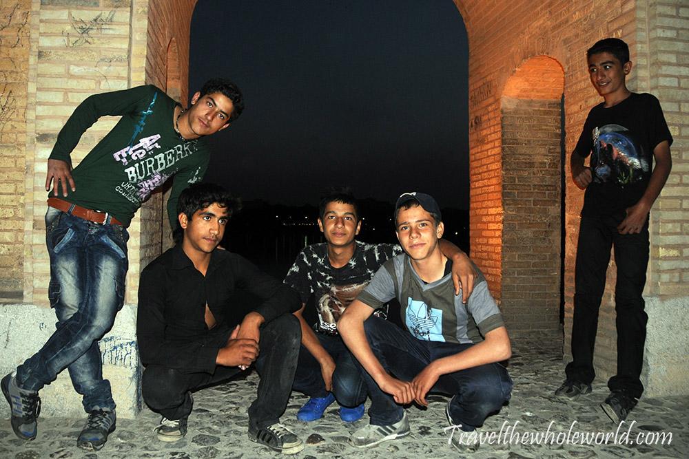 Iran Persia Esfahan Kids
