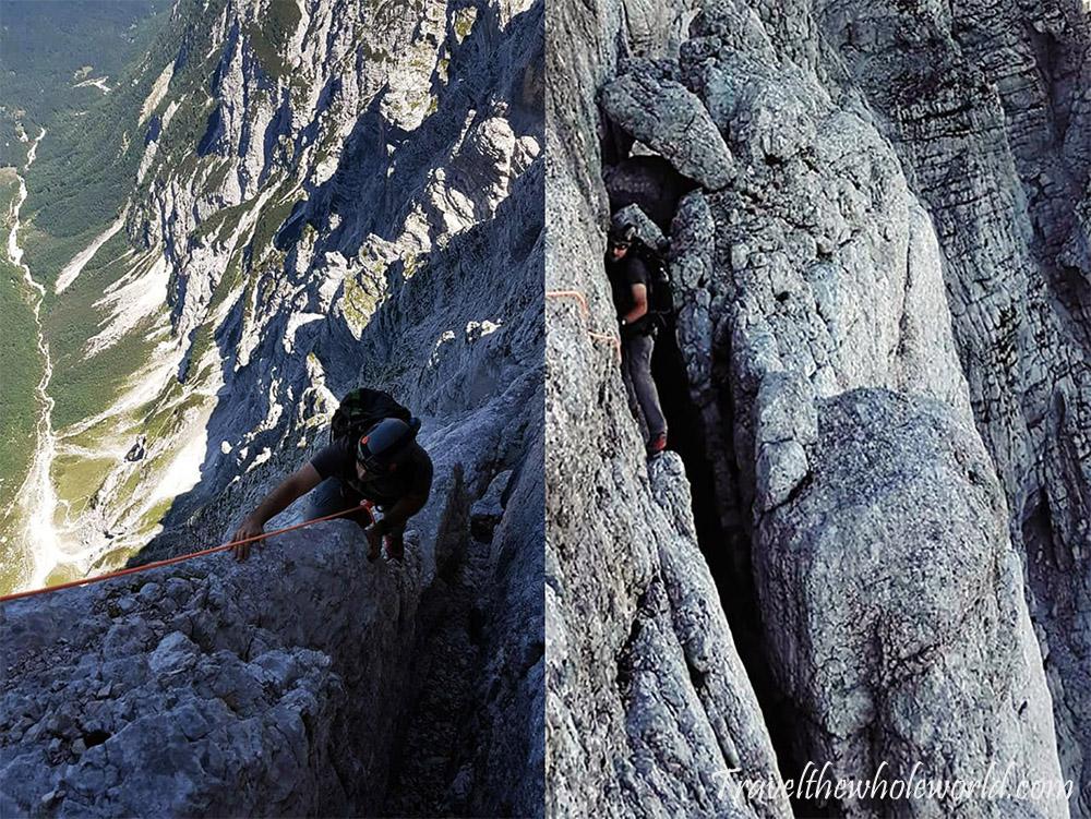 Slovenia Julian Alps North Face