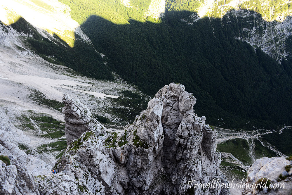 Slovenia Julian Alps Short German Route