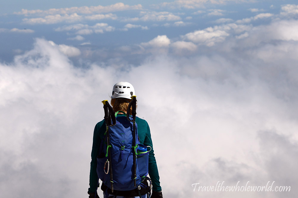 Slovenia Triglav Summit Descent