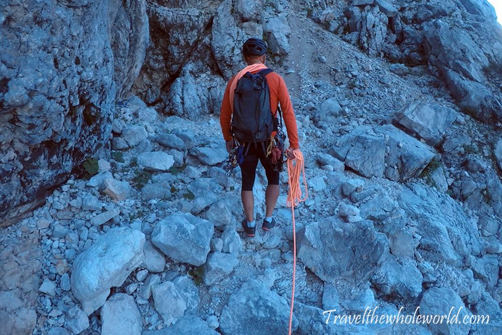 Slovenia Triglav Julian Alps Climbing Approach