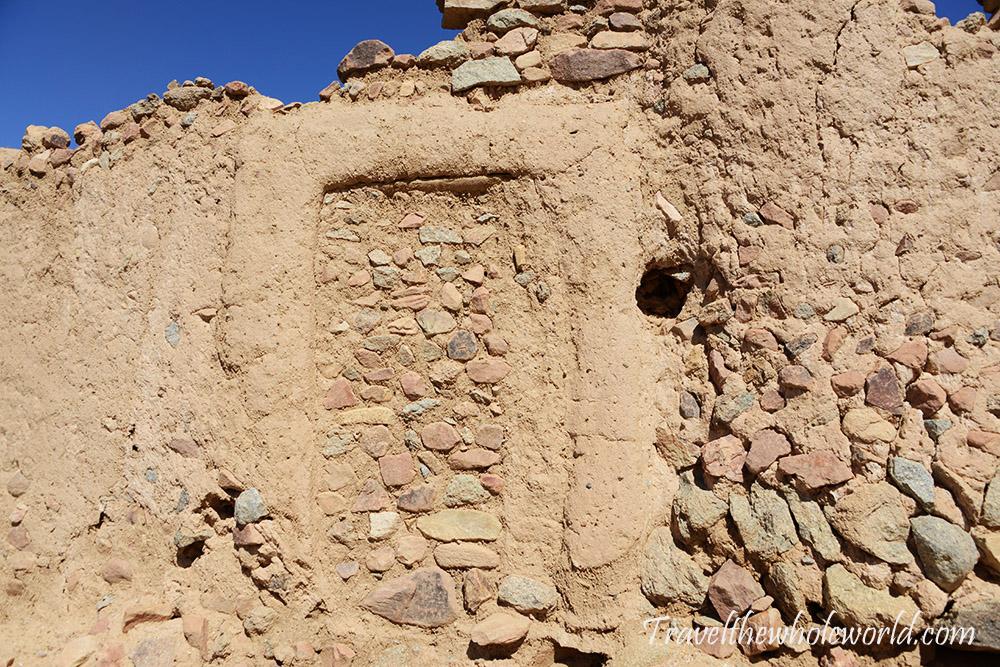 Algeria Djanet Ancient Village 16th Century Door