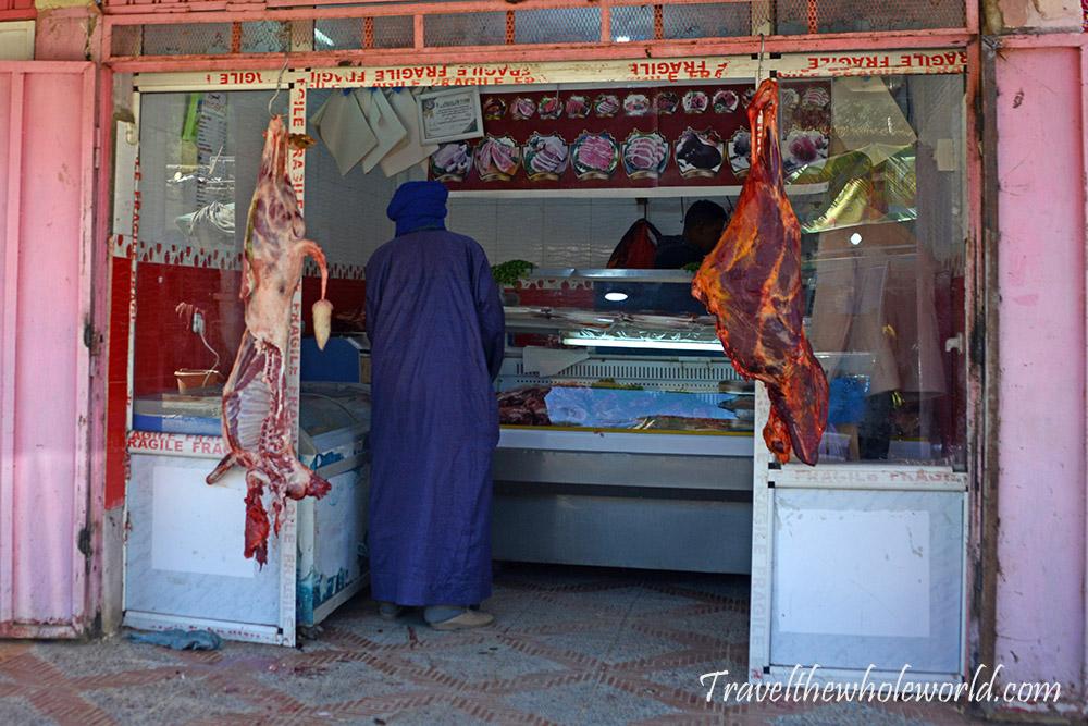 Djanet Algeria Butcher