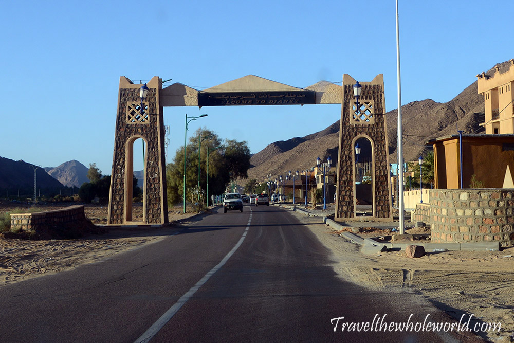 Algeria Entrance to Djanet