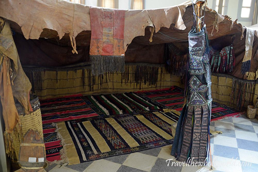 Algeria Djanet Museum Tribal Desert Home