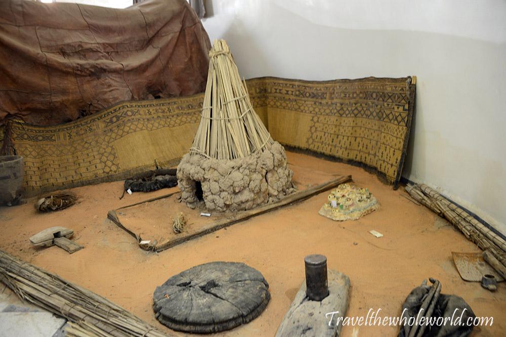 Algeria Djanet Museum Tribal Tools