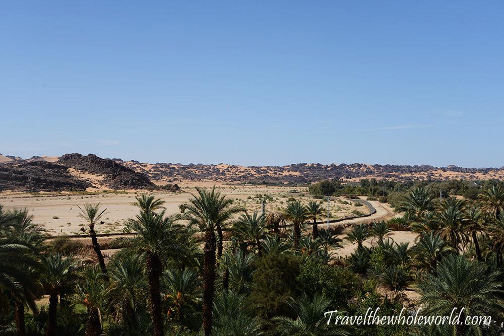 Algeria Djanet River
