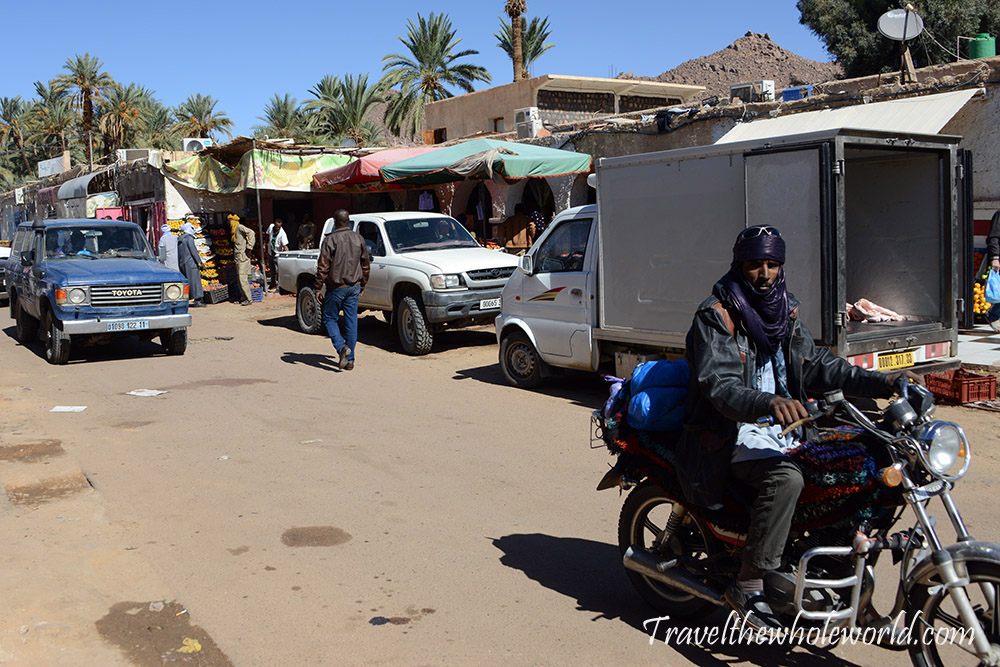 Algeria Djanet Street