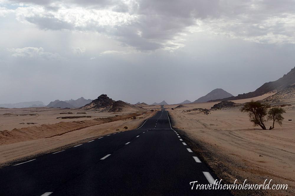 Algeria Sahara Highway