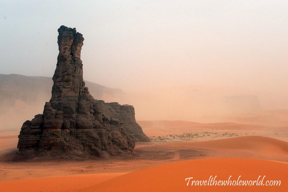 Algeria Dark Tower Sandstorm Sahara