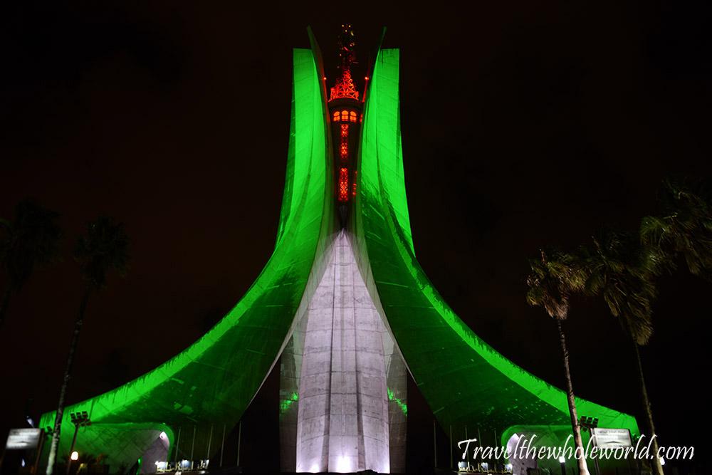 Algeria Algiers Monument of the Martyr's Shrine
