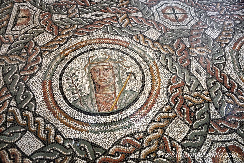 Mosaic of the Four Seasons from Ain Beida near Timgad