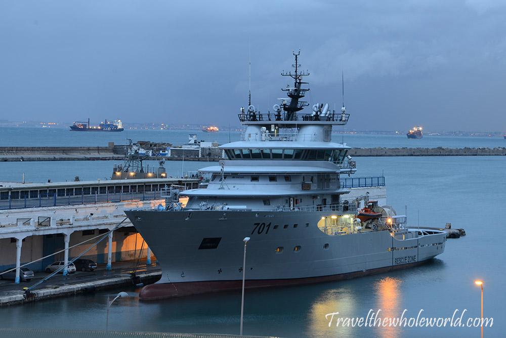 Algeria Algiers Rescue Ship