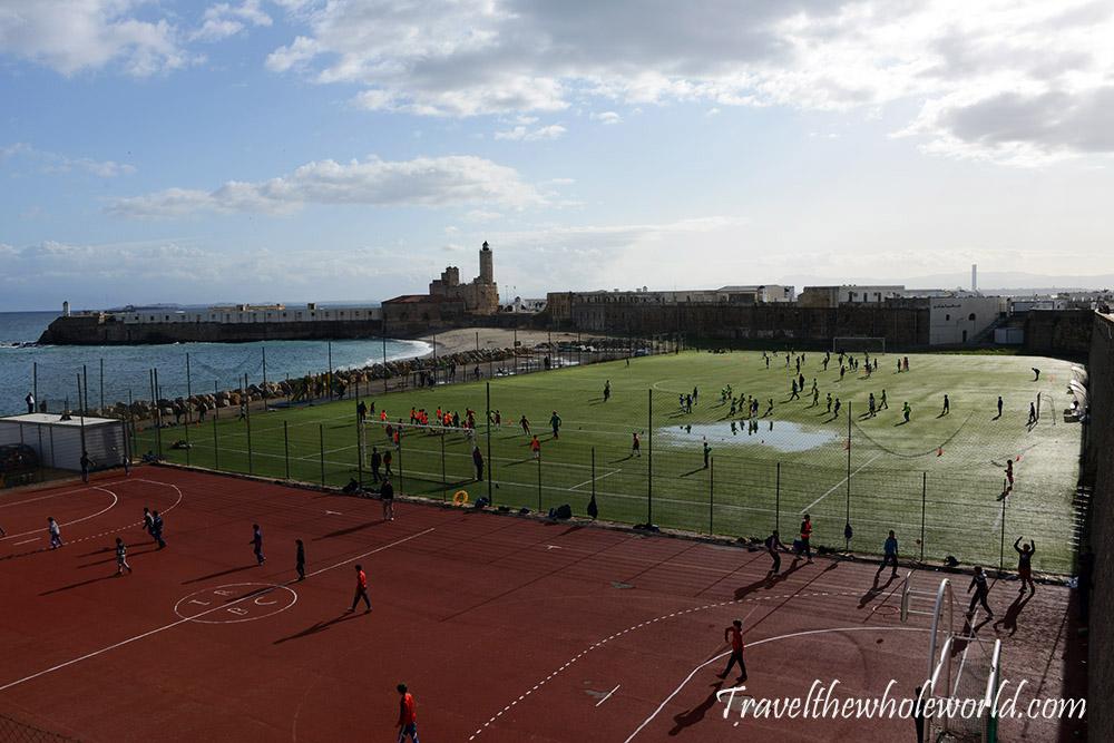 Algeria Algiers Soccer Field