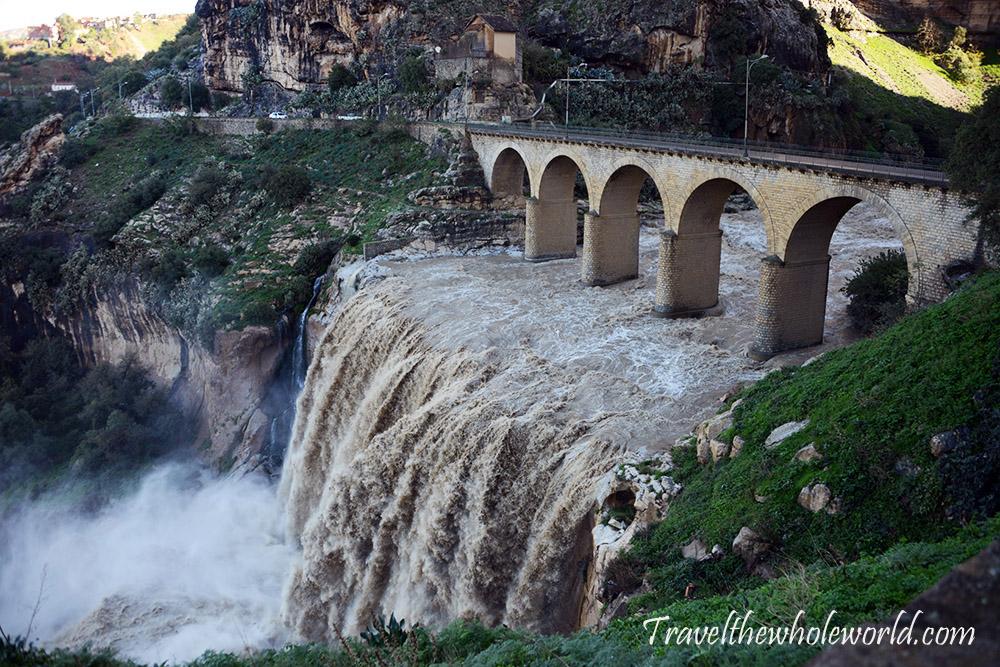 Algeria Constantine Waterfall