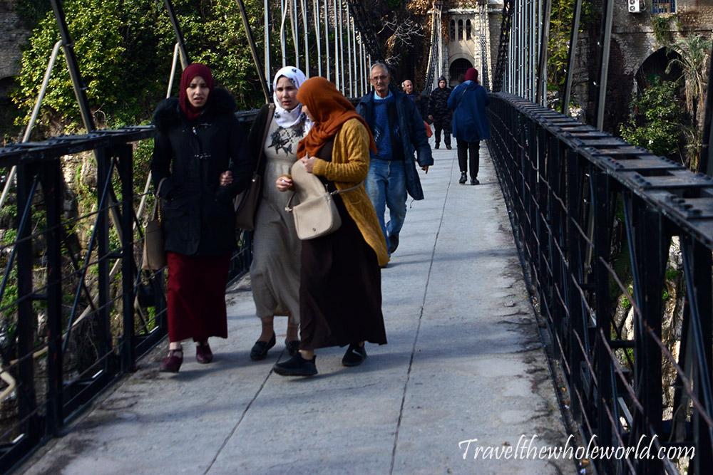 Algeria Constantine Crossing Mellah Slimane Bridge