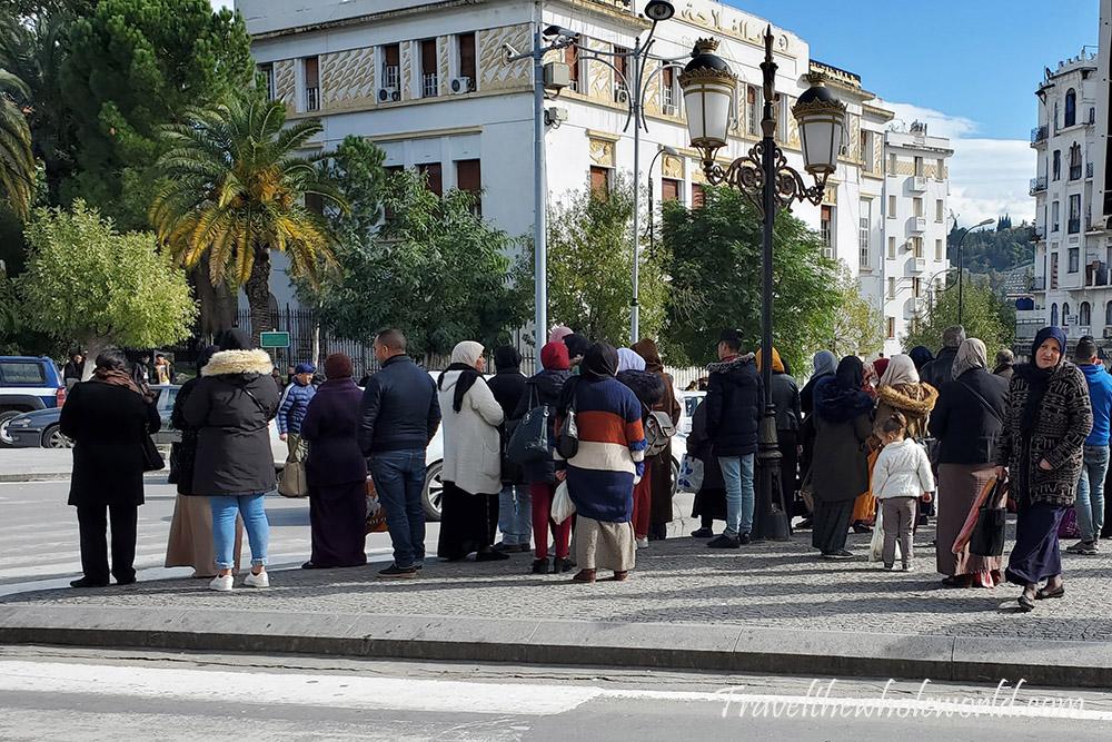 Algeria Constantine Pedestrians