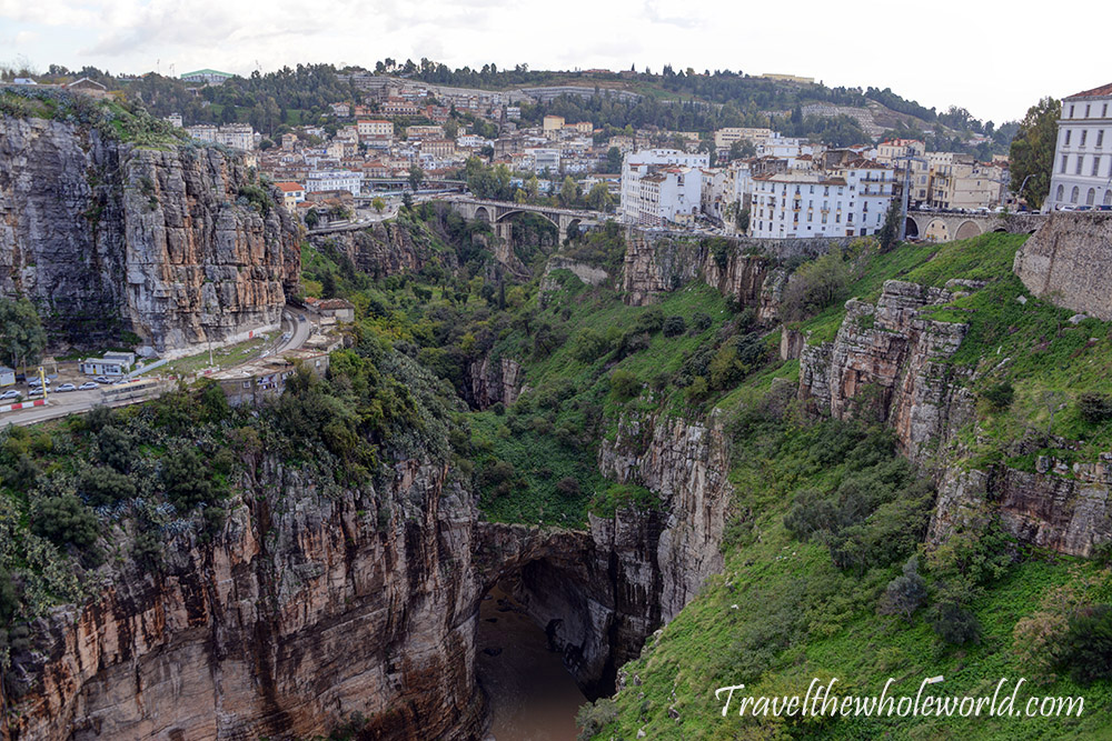 Algeria Constantine Natural Bridge